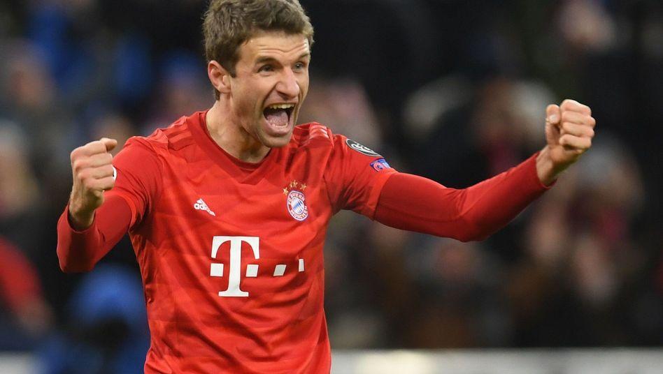 Bayerns Thomas Müller: Erst angezählt, dann aufgedreht