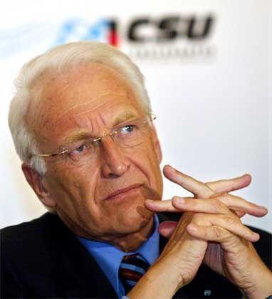 CSU-Chef Stoiber: Weitere Vergrößerung der EU ist nicht finanzierbar