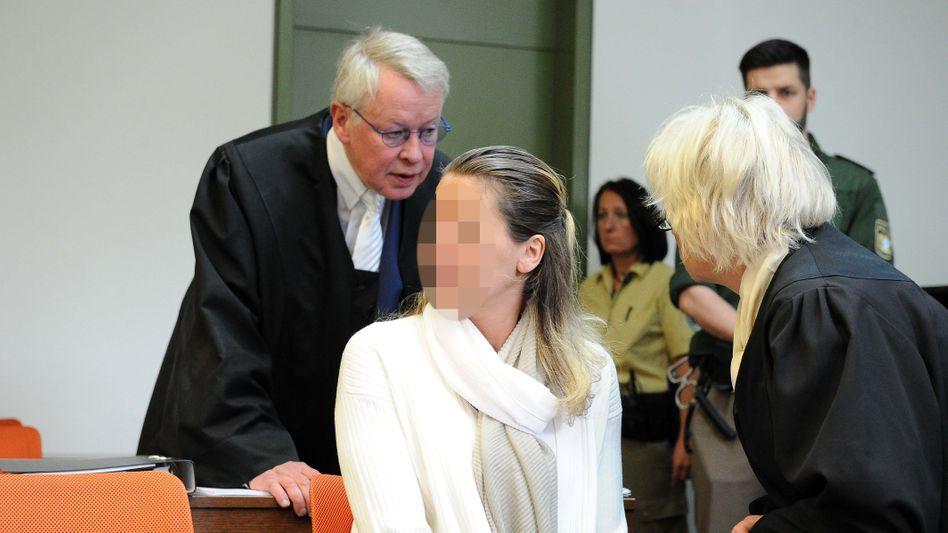 Melanie Meier vor Gericht