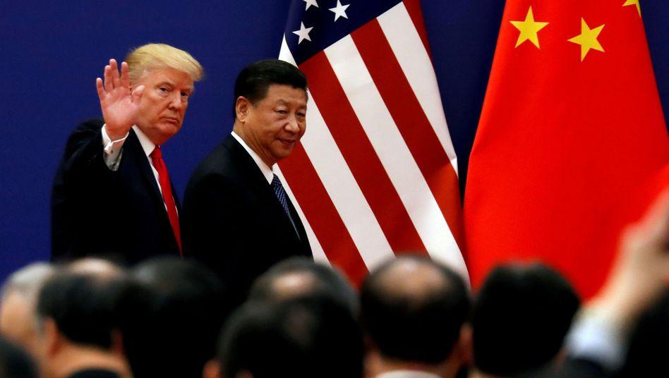 Donald Trump und Xi Jinping im November 2017 - nächstes Treffen in Osaka?
