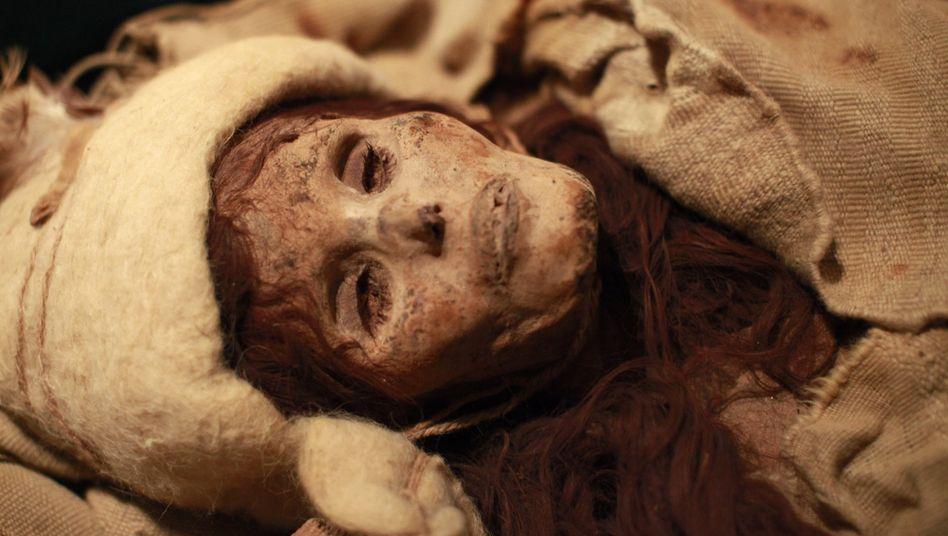 Eingewickelte Mumie: Alter kaum noch zu unterscheiden