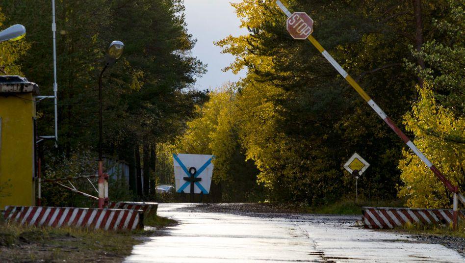 Raketentestgelände im russischen Njonoksa