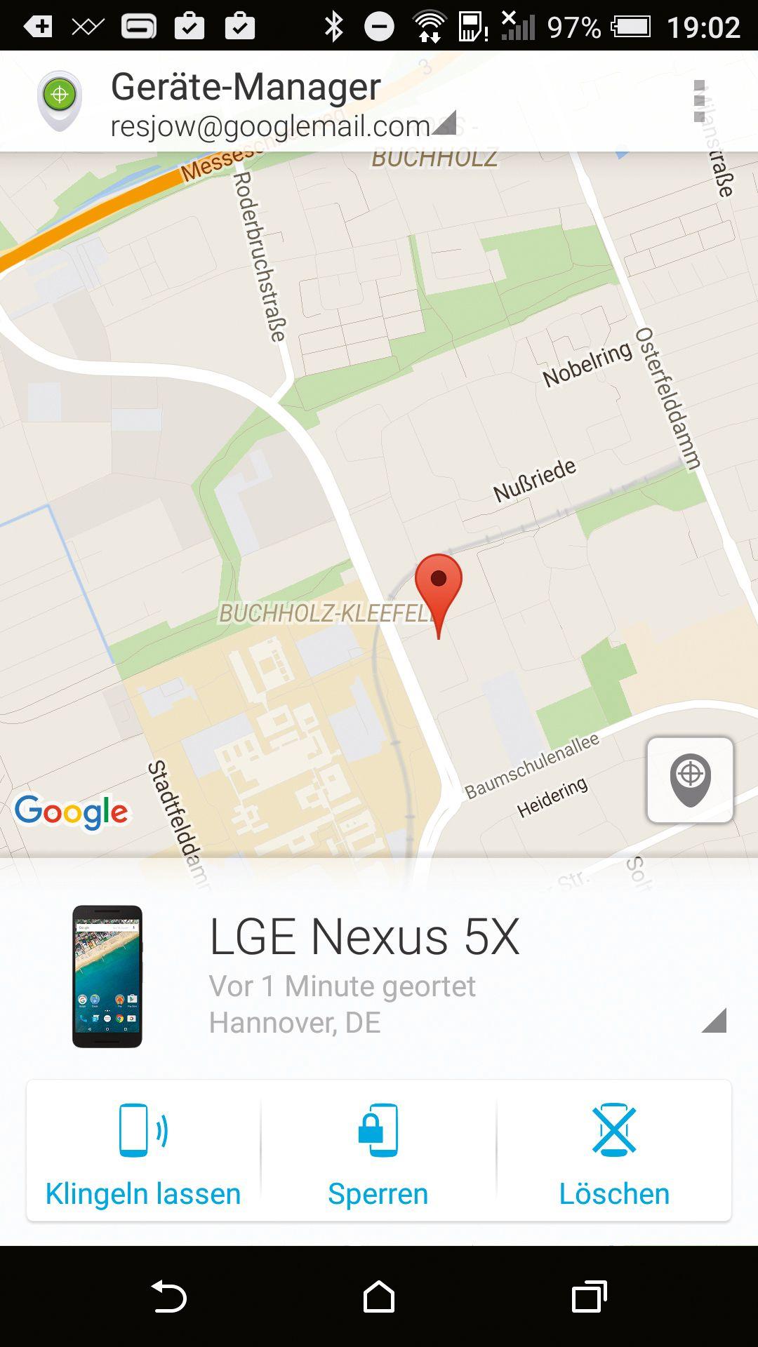 EINMALIGE VERWENDUNG c't Koop/ Diebstahlschutz für Android-GerÃ?te