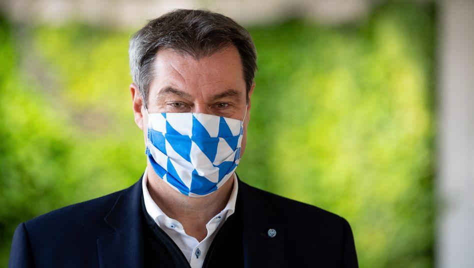 Bayerns Ministerpräsident Söder: Einige Großstädte drohen Kontrolle zu verlieren