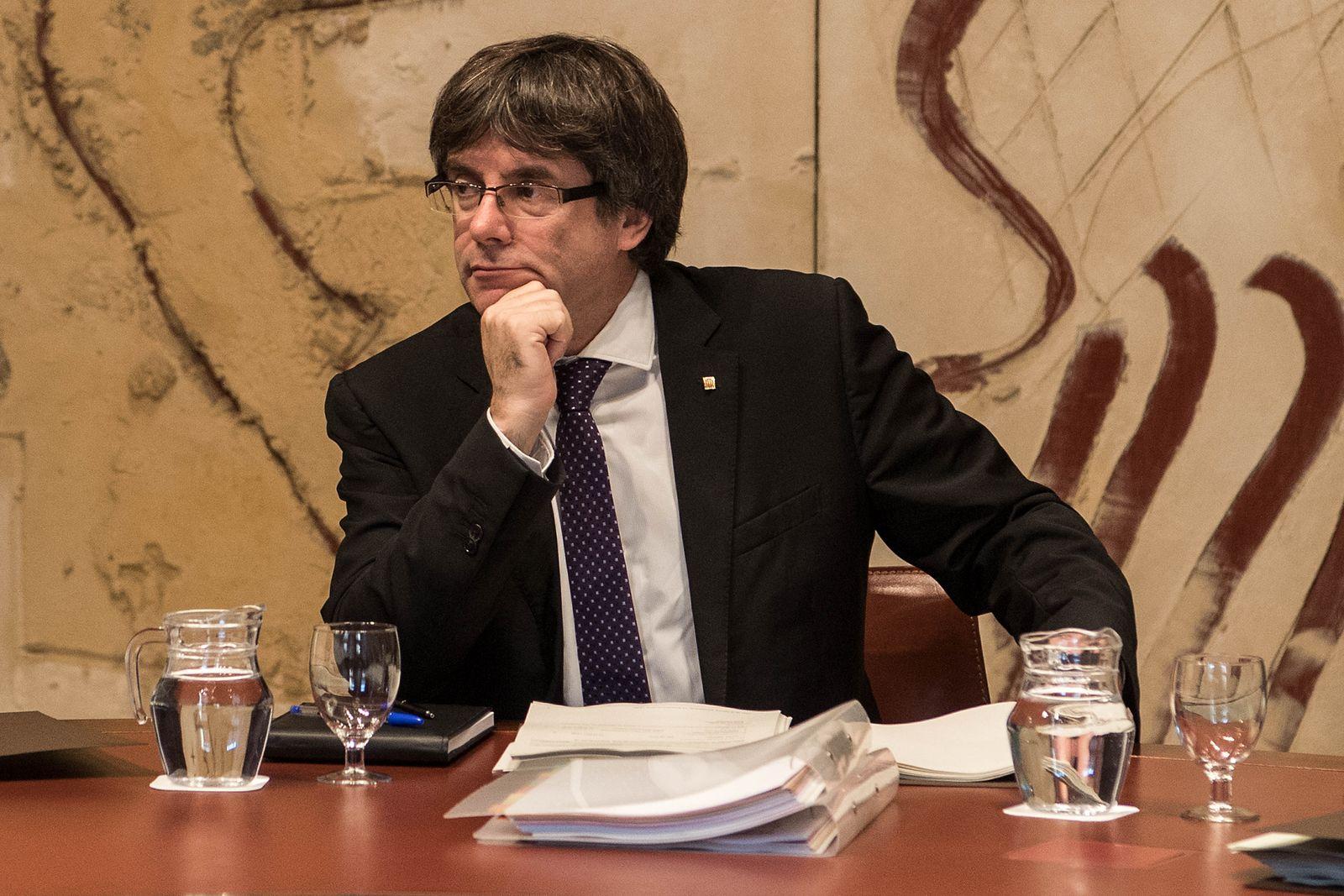 Puigdemont Katalonien Spanien