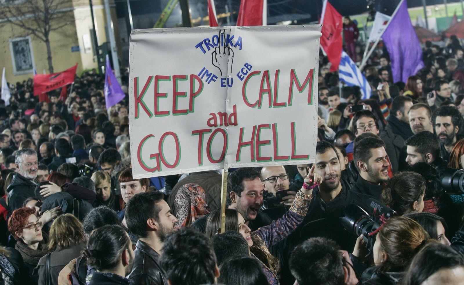 Greece Troika Syriza