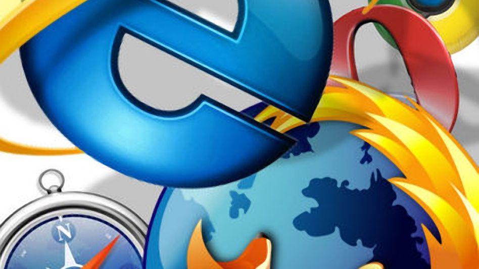 Noch übermächtig: Microsofts Internet Explorer dominiert den Weltmarkt, nur in Europa bietet Firefox dem Explorer erfolgreich Paroli - und läuft ihm langsam den Rang ab