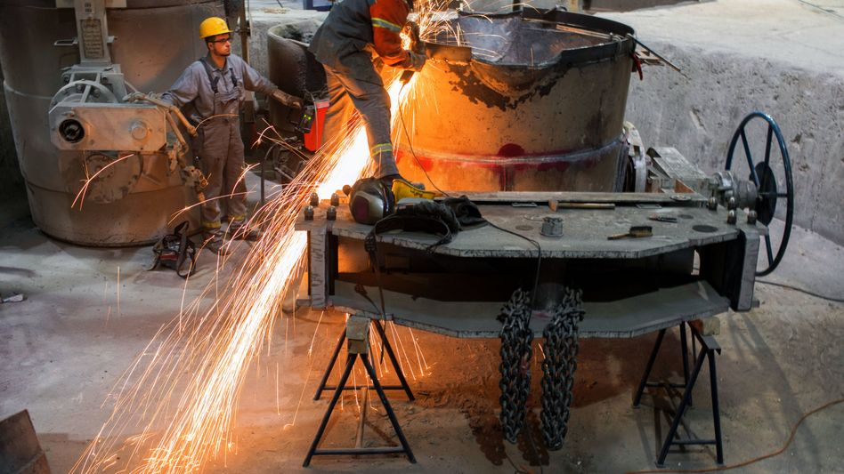 Gießerei in Mecklenburg-Vorpommern (2017): Immer mehr mittelständische Betriebe wollen wieder mehr Mitarbeiter einstellen