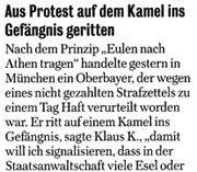 """Aus der """"Berliner Morgenpost"""""""