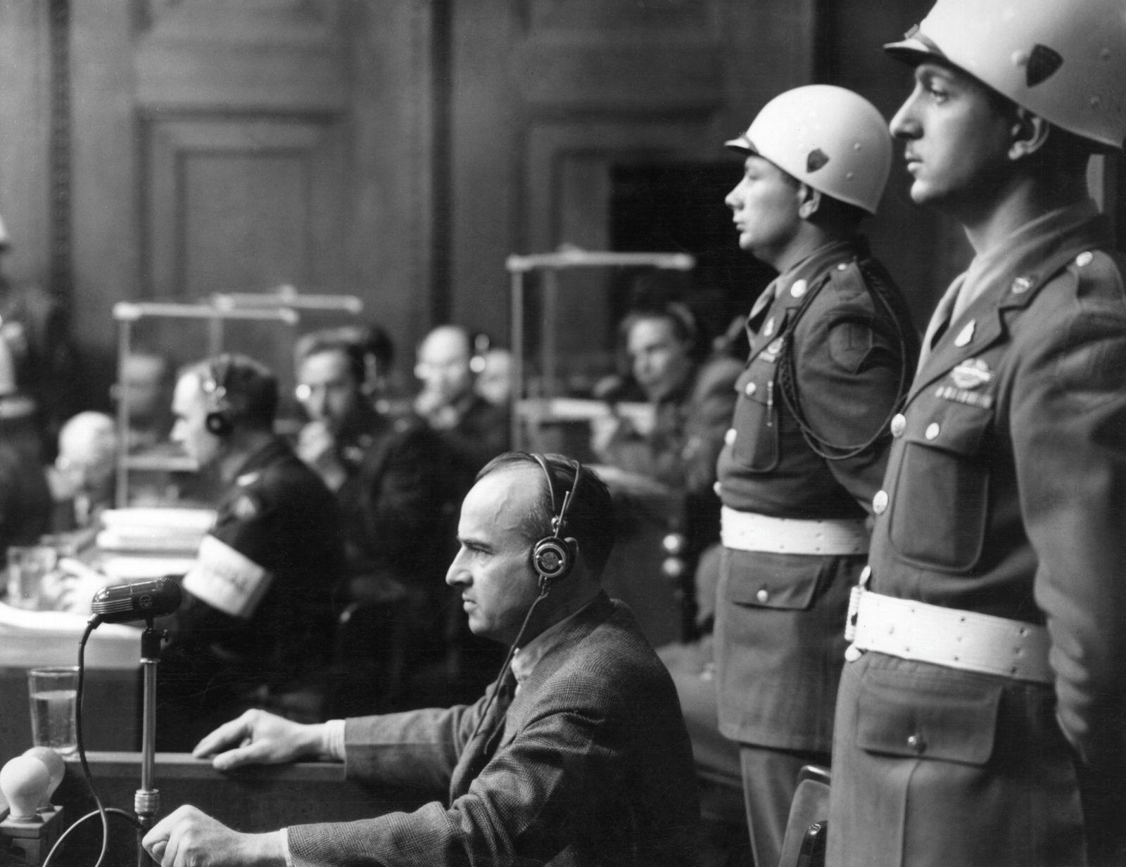 HansFrankAt The Nuremberg Trials