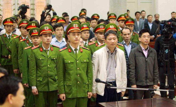Trinh Xuan Thanh vor Gericht in Hanoi