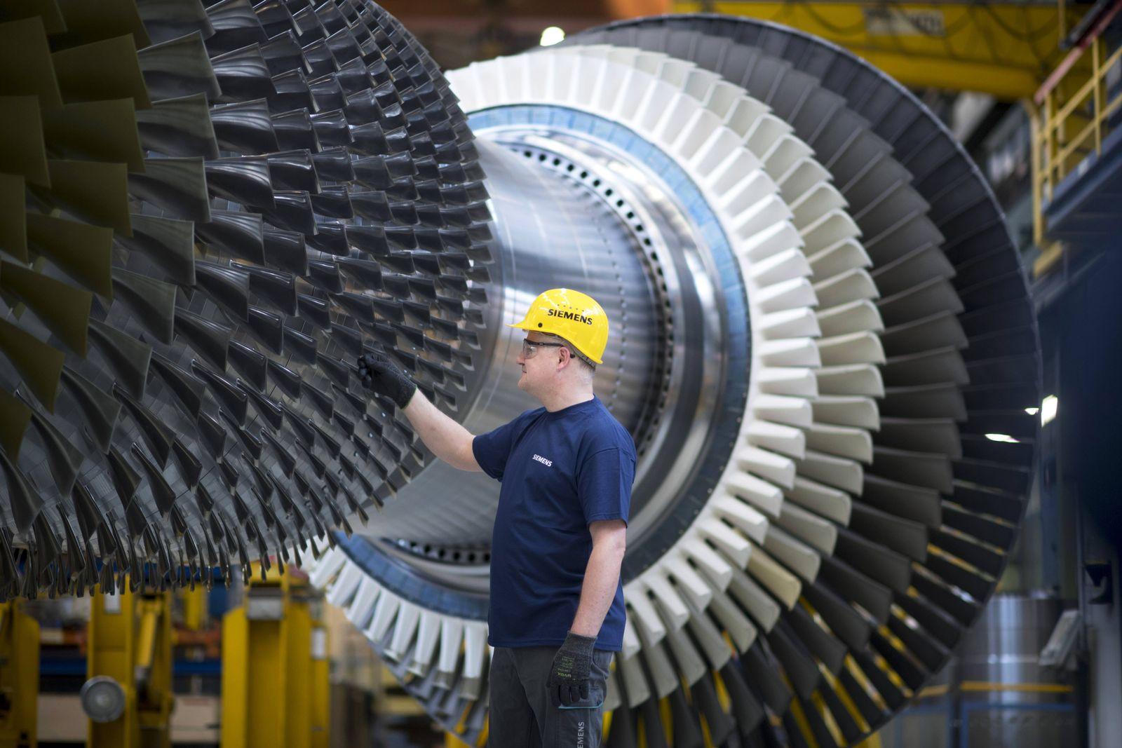 EINMALIGE VERWENDUNG Deutschland / Konjunktur / Industrie / Wirtschaft / Siemens