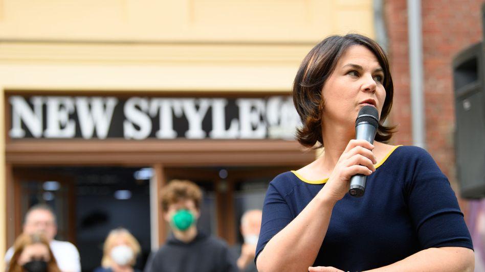 Noch gilt die Kanzlerkandidatin der Grünen, Annalena Baerbock, als Modernisiererin