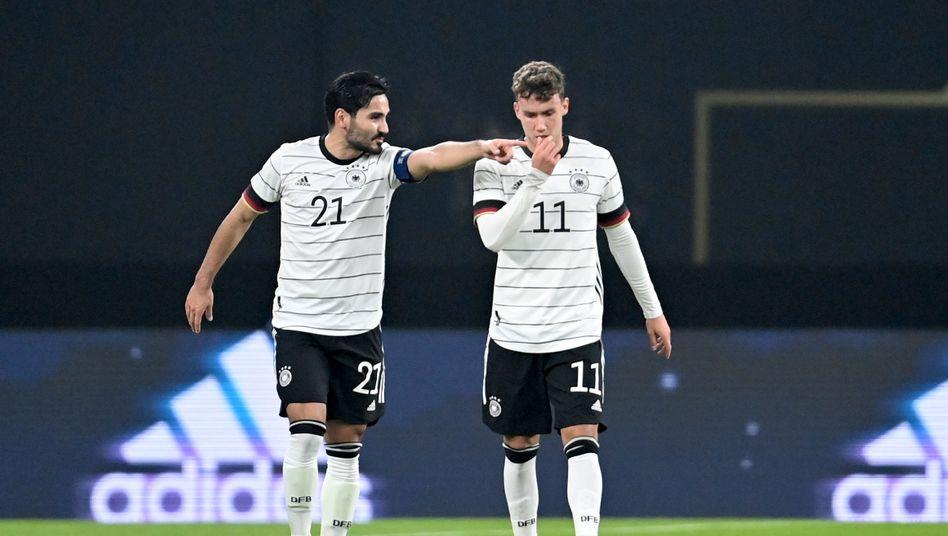 Als Kapitän Ilkay Gündogan zur Pause ausgewechselt wurde, verlor auch das DFB-Team an Schwung