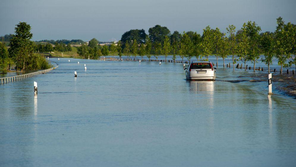 Hochwasser: Deichbruch in Stendal