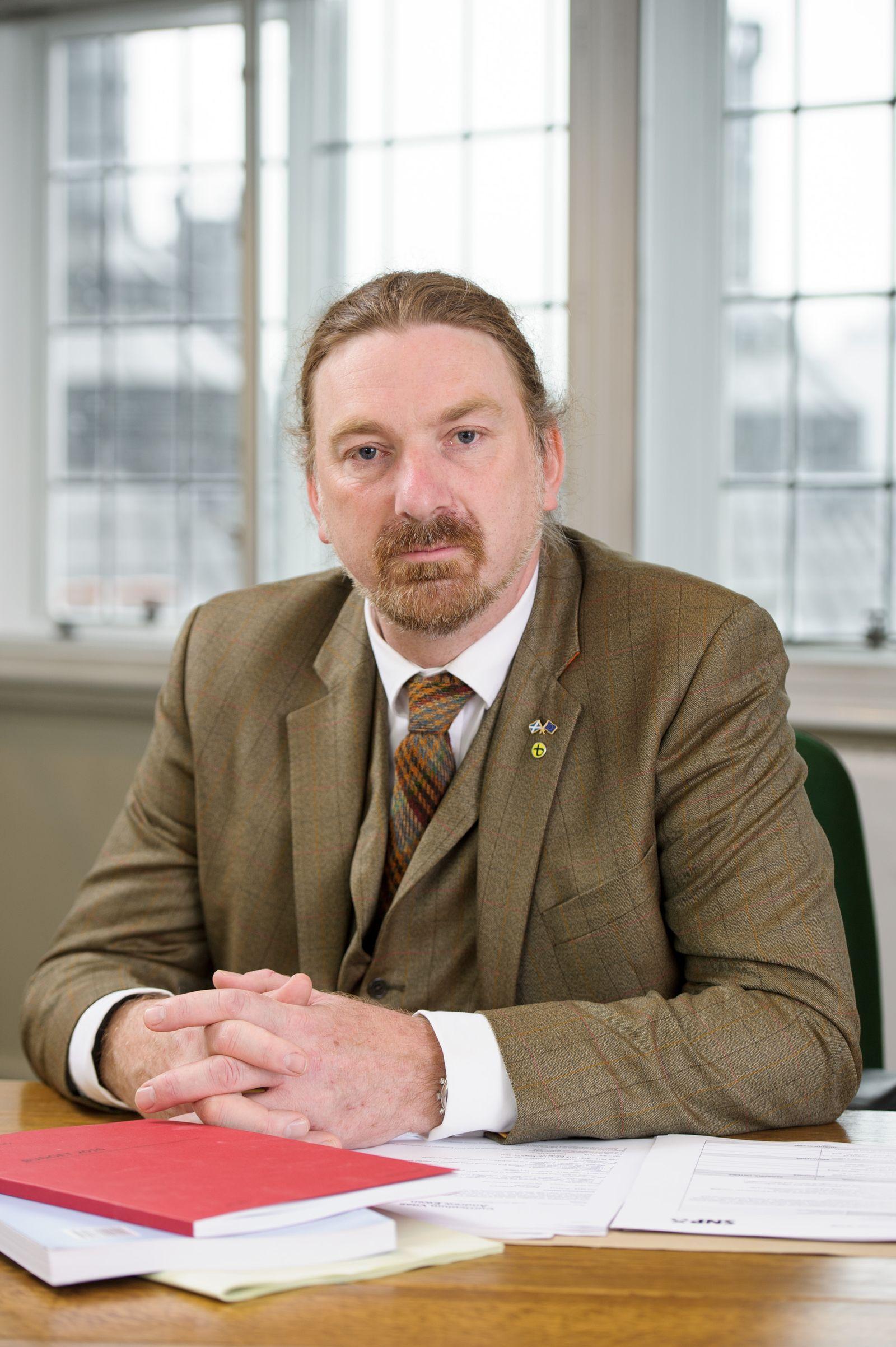 EINMALIGE VERWENDUNG Chris Law/ SNP