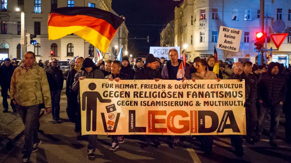 Legida-Marsch am Montag: Leipziger Wutbürger hoffen auf Zulauf