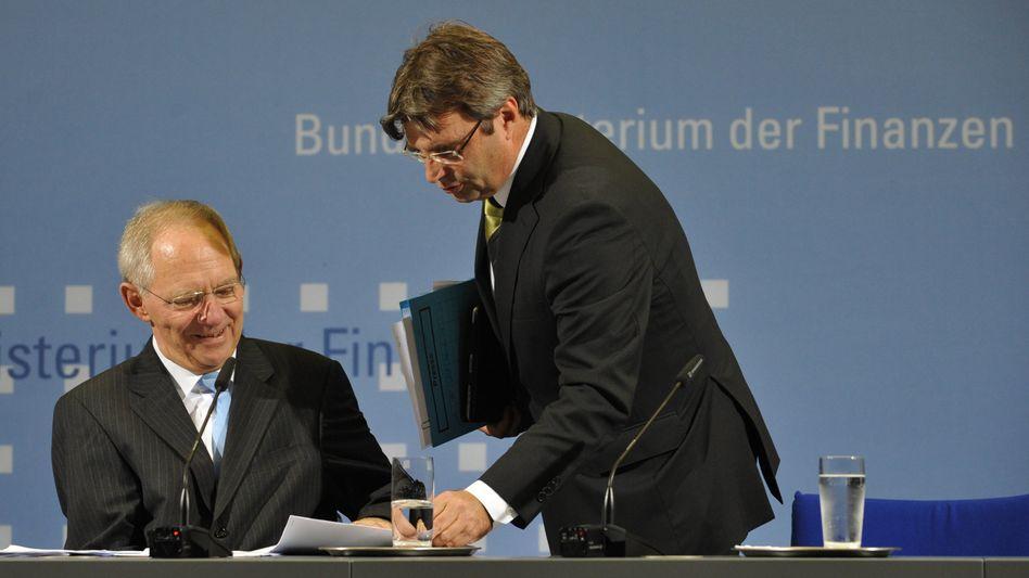 Pressekonferenz zum Steuerplus: Schäuble, die 61 Milliarden und ein kleiner Eklat