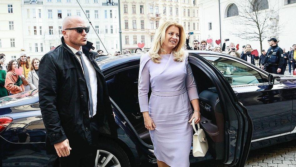Staatschefin Čaputová