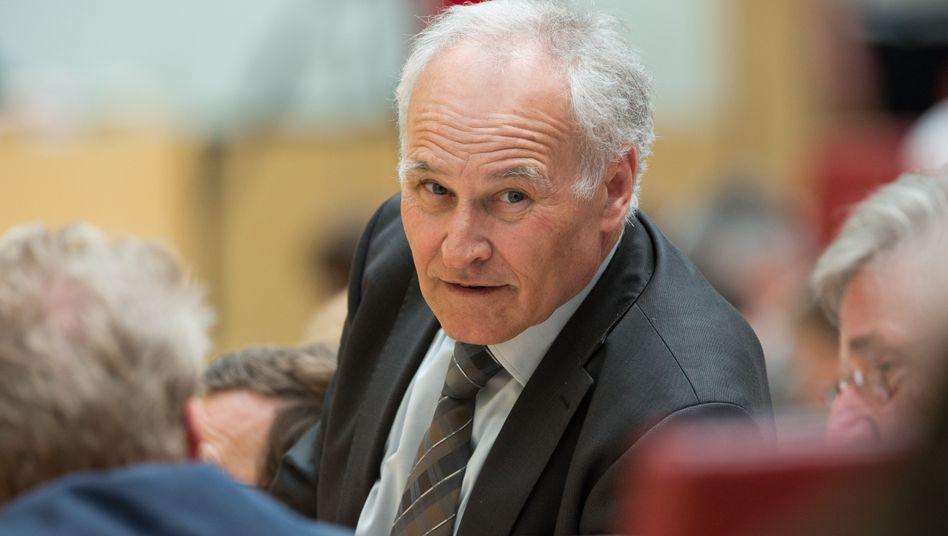 Huber im bayerischen Landtag (Archivbild von 2012): Politik-Sucht auf allen Ebenen