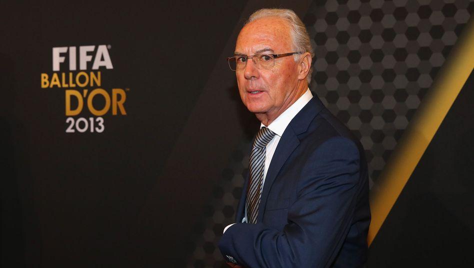 Beckenbauer, der Kaiser: Ja freilich. Warum nicht?