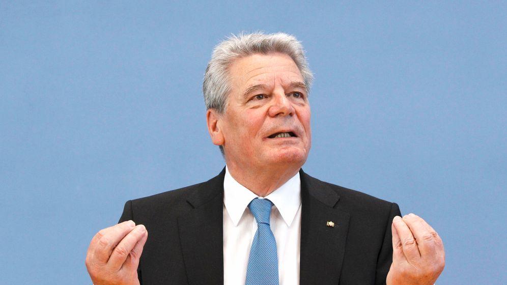 Joachim Gauck: Bürgerrechtler für Bellevue