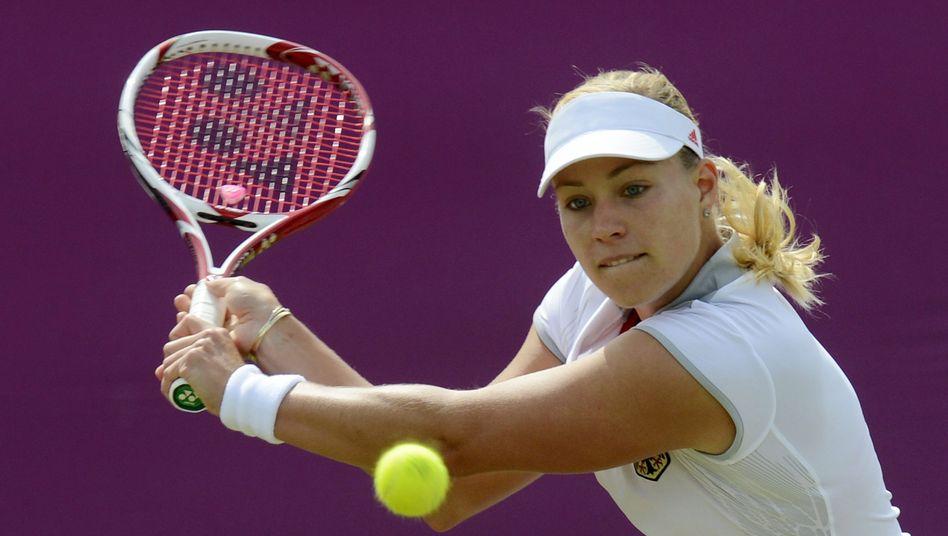 Tennisspielerin Kerber: Klarer Auftaktsieg