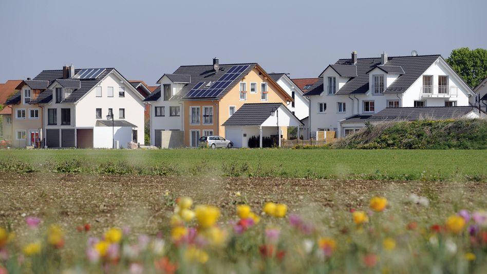Wohnsiedlung in Aschheim bei München
