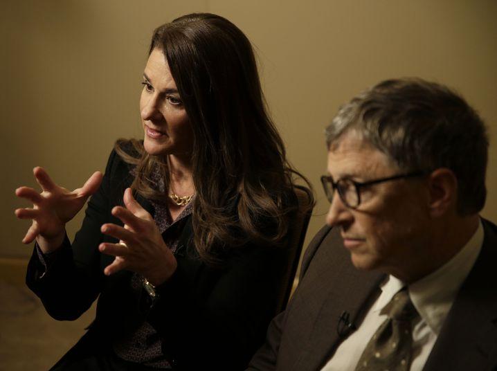 Keine gemeinsame Zukunft: Bill und Melinda Gates (2015)