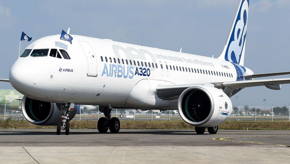 Mittelstreckenjet Airbus A320neo