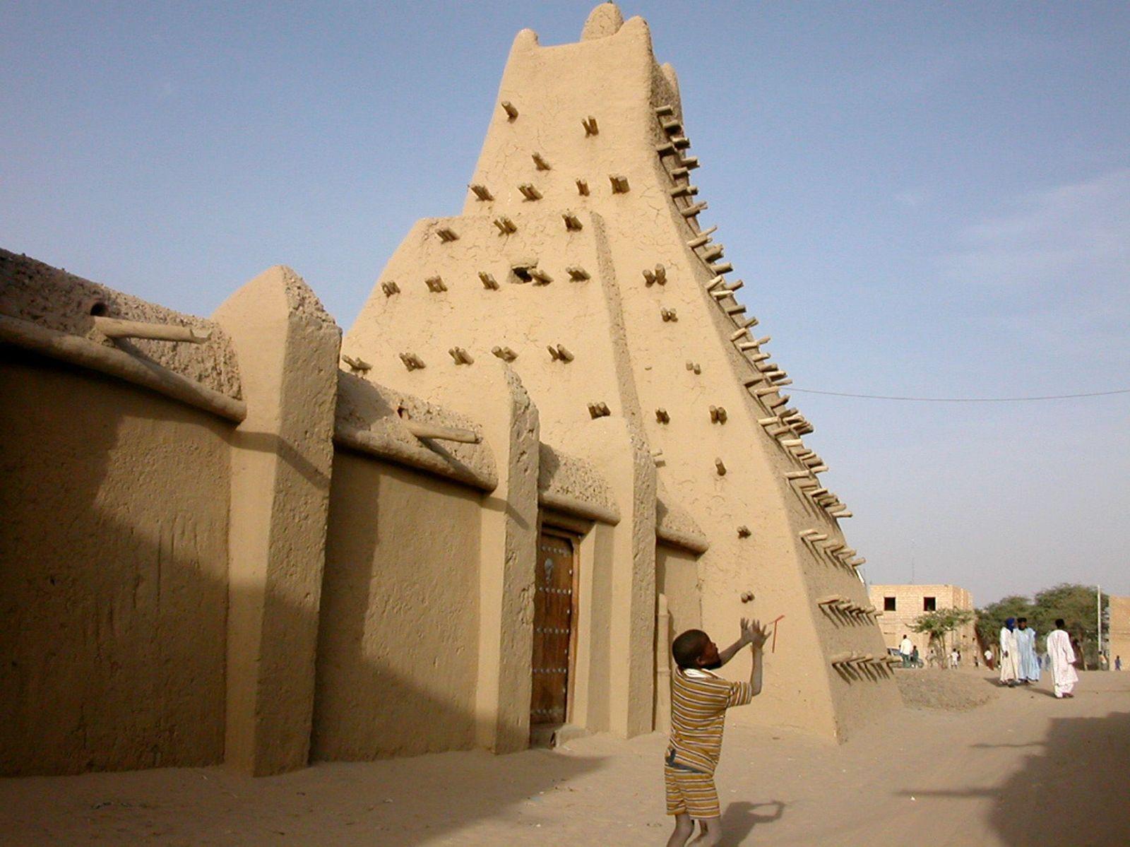 EINMALIGE VERWENDUNG Timbuktu / Mali