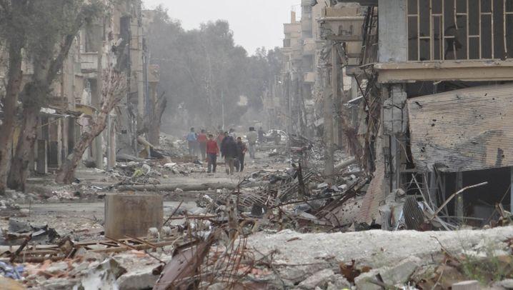 Bürgerkrieg in Syrien: Wo der Tod Alltag ist
