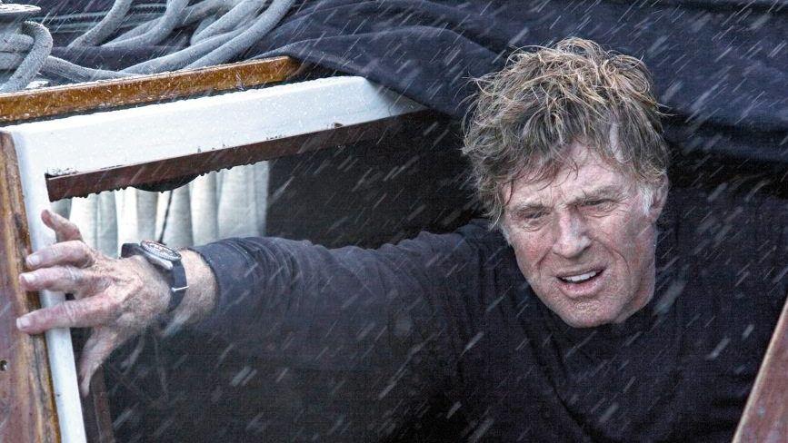 Schauspieler Redford in »All Is Lost«