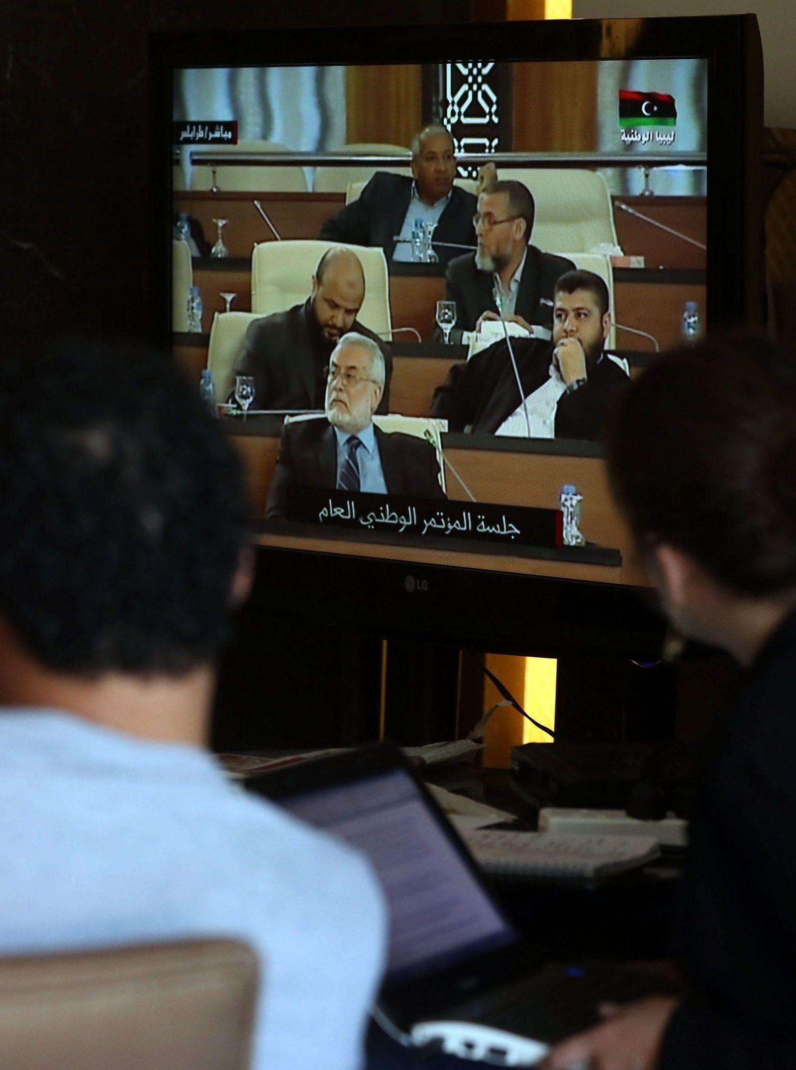 CORRECTION-LIBYA-POLITICS-UNREST