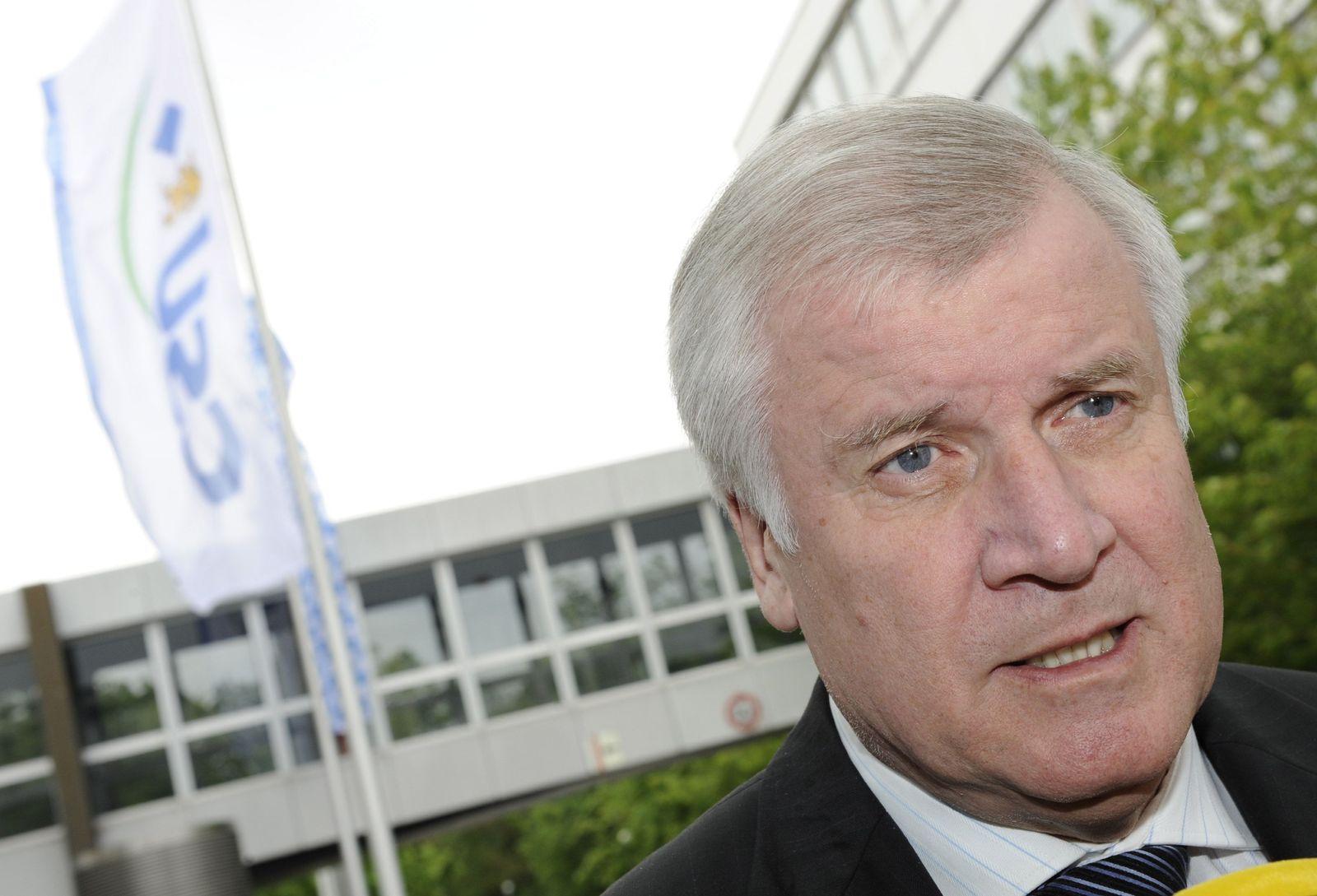 NICHT VERWENDEN Horst Seehofer