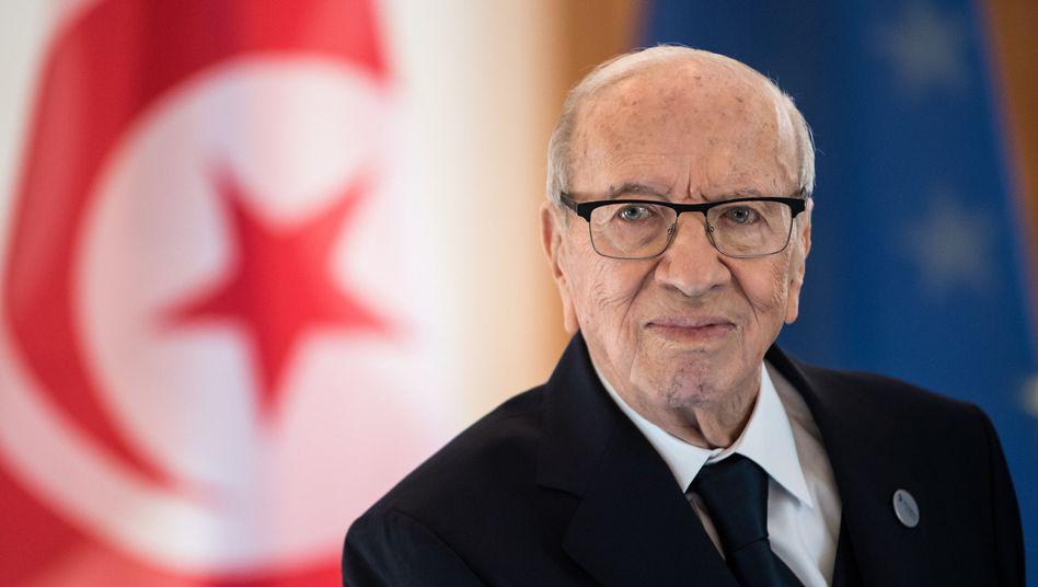 Verstarb im Alter von 92 Jahren: Tunesiens Präsident Beji Caid Essebsi