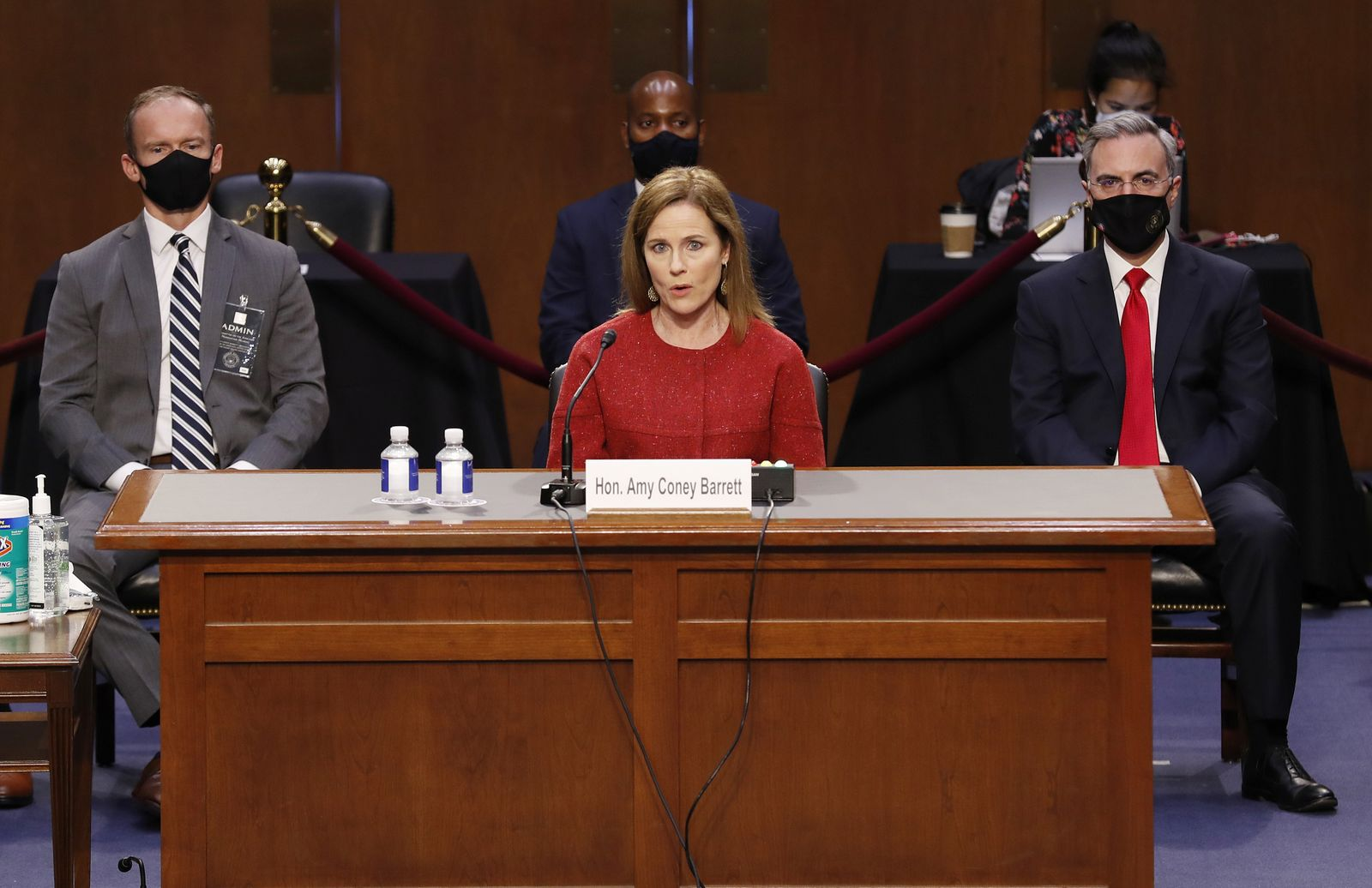 U.S. Senate holds confirmation hearing for Barrett to be Supreme Court justice in Washington