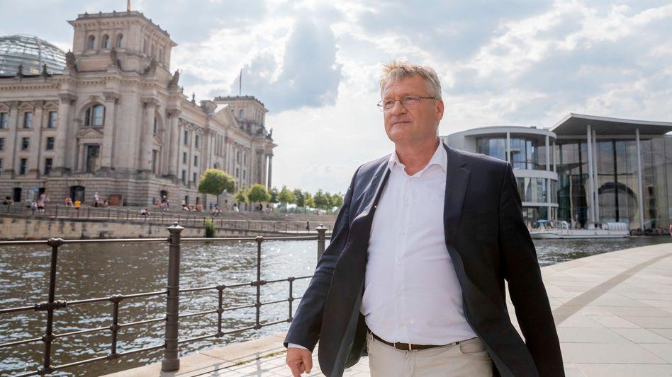 AfD-Chef Jörg Meuthen in Berlin (2020): Das letzte Wort haben die Abgeordneten