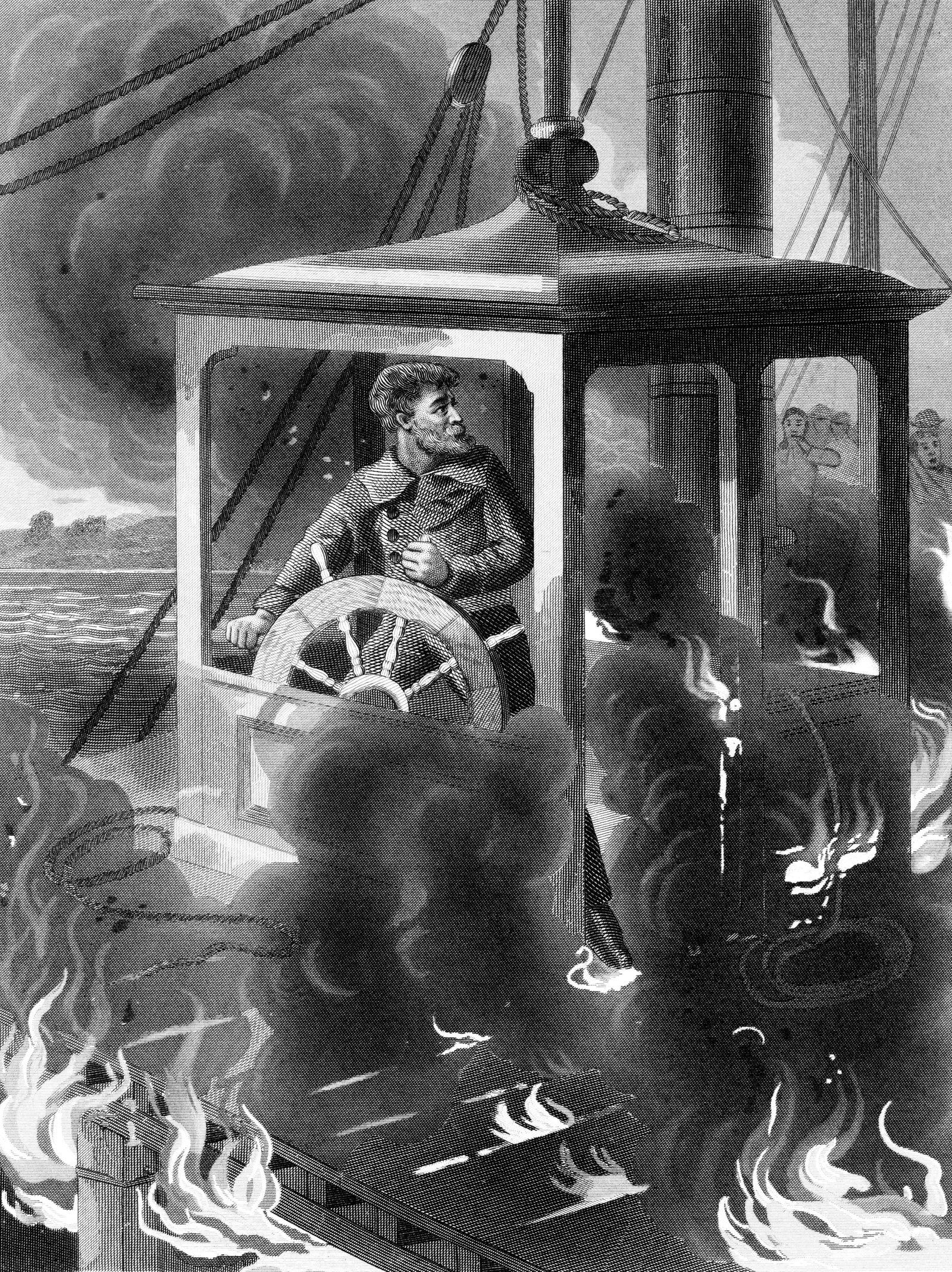 Death Of John Maynard On The Steamboat Erie