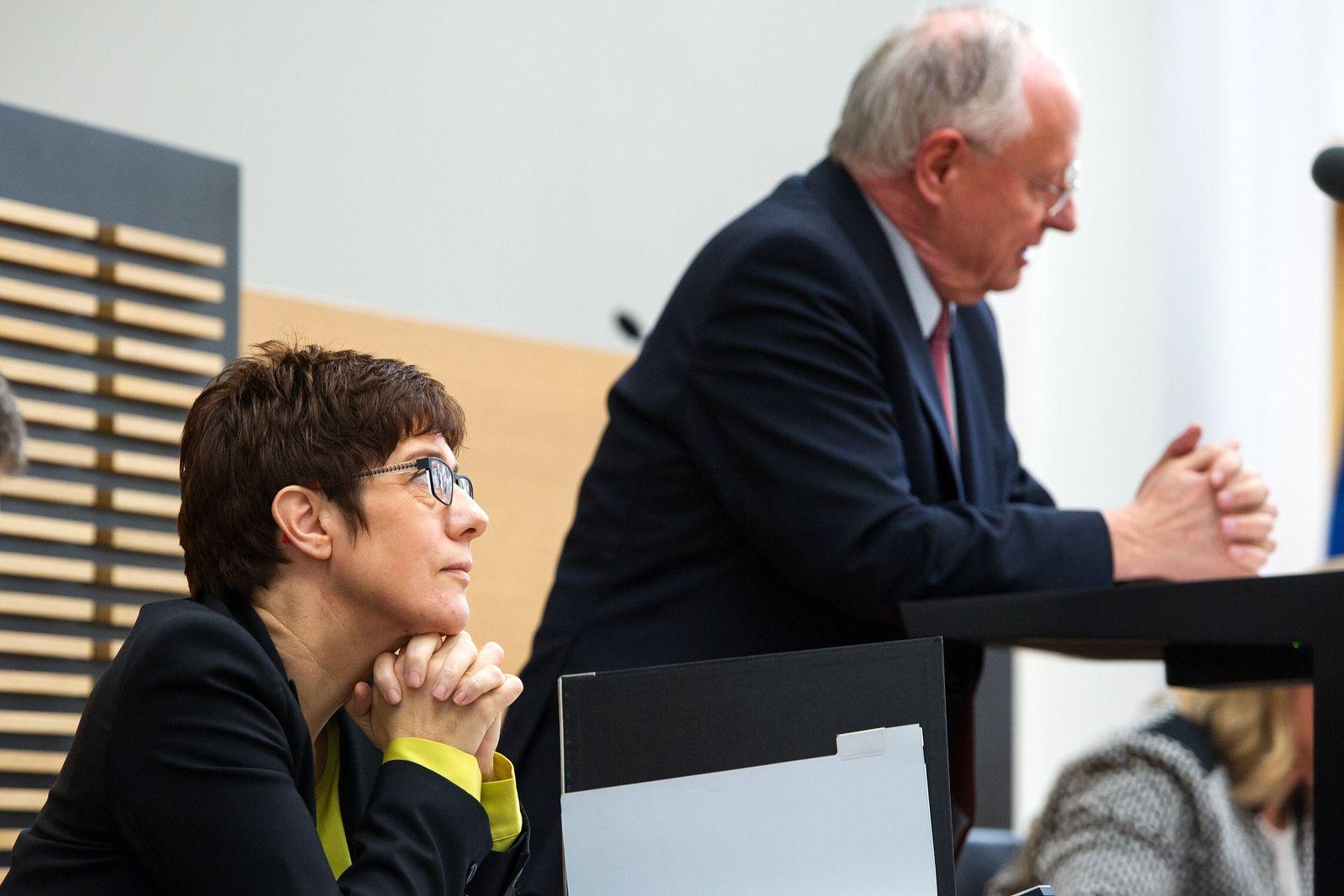 Lafontaine Kramp-Karrenbauer