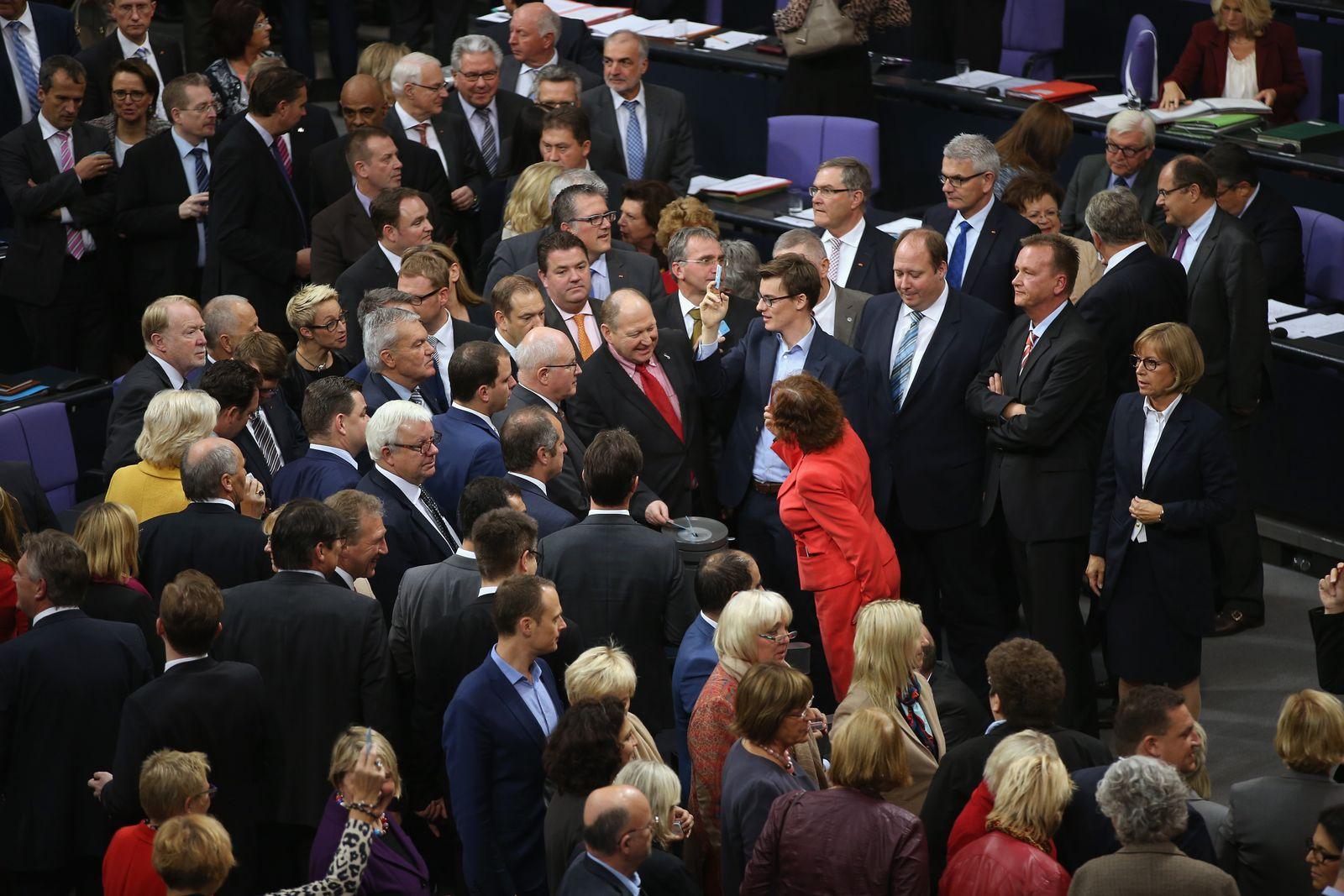 Bundestag/ Asylgesetzreform/ Abstimmung