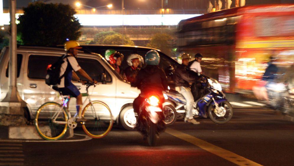 Verkehrskollaps in Jakarta: Mit dem Rad schneller ans Ziel