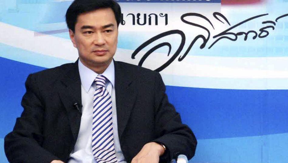 Thailändischer Ministerpräsident Vejjajiva: Strenge Überwachung