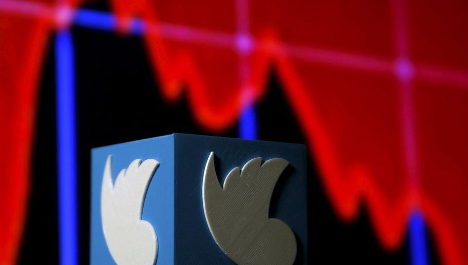 Twitter-Logo: Das Nachrichtenportal gewinnt keine neuen Nutzer