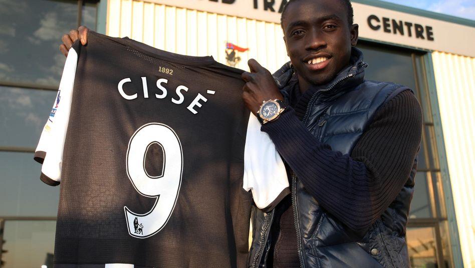 Newcastle-Spieler Cissé: Bank-Boykott aus Überzeugung