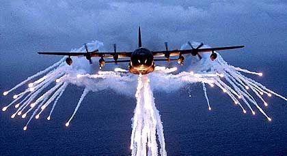 In Afghanistan im Einsatz: US-Militärflugzeug vom Typ MC-130