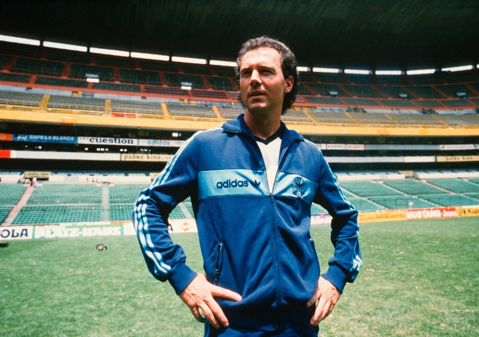 MEX: Franz Beckenbauer at the World Cup 1986