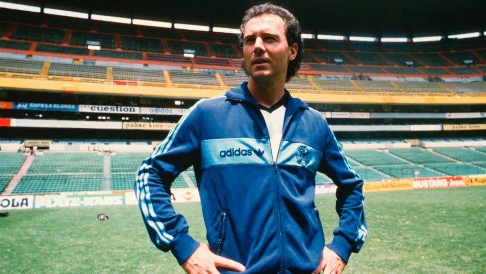 Franz Beckenbauer 1986 in Mexiko: Ein Kaiser entzieht sich jeder Kontrolle