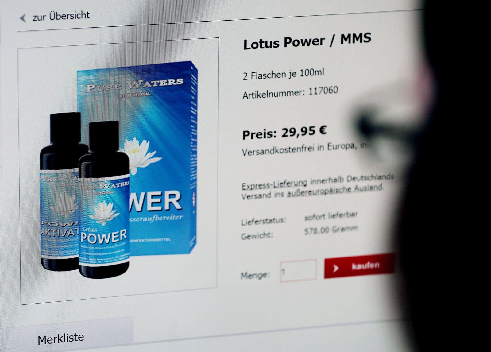 MMS / Lotus Power / Heilmittel