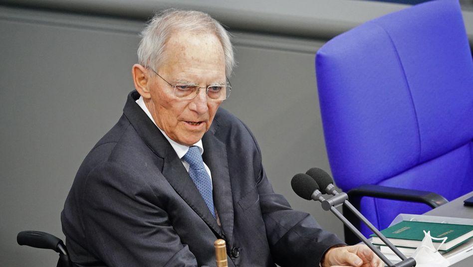 Wolfgang Schäuble am 3. März 2021
